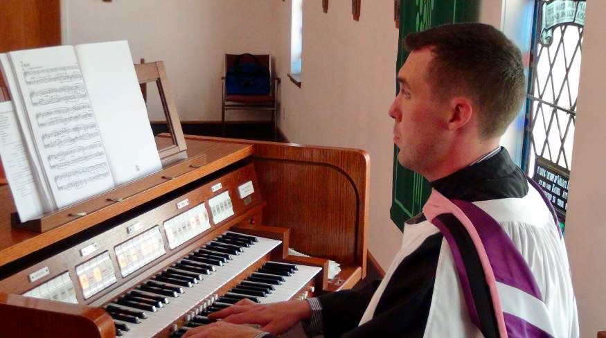 organist at st johns